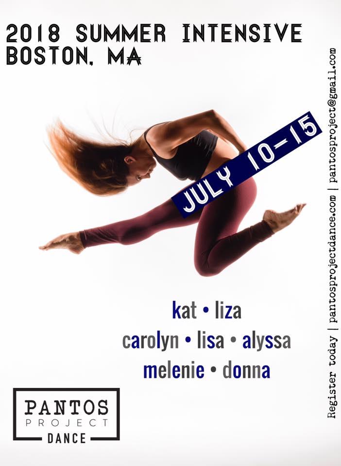 Pantos Project Contemporary Summer Intensive - BDA